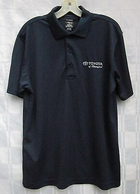 TOYOTA of STAMFORD Connecticut GOLF SHIRT PAGE & TUTTLE PERFORMANCE PIQUE POLO M