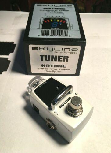 HOTONE SKYLINE CHROMATIC TUNER STOMPBOX w/ TRUE BYPASS + VOLUME BOOST EX