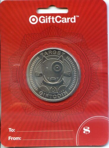TARGET SILVER  COIN SPECIAL LIMITED EDTION GIFT CARD  SOLD OUT