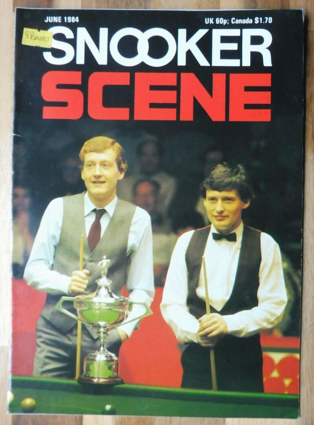 Snooker Scene Magazine, June 1984, Good Condition.