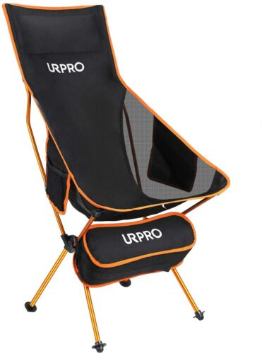 URPRO Upgraded Outdoor Camping Chair Portable Lightweight Folding Camp Chair