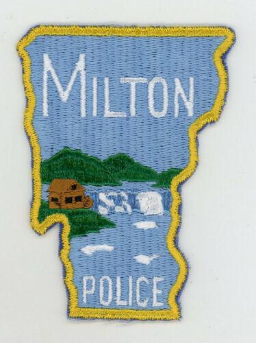 Milton Police Department Vermont