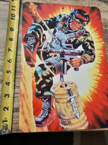 GI Joe Hit N Run 8x12 Metal Wall Sign