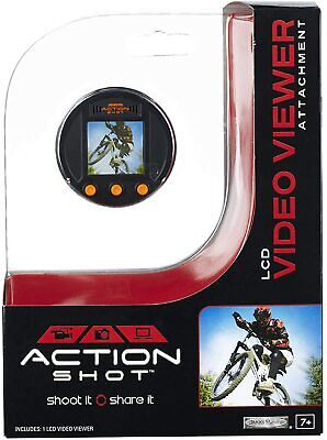Jakks Pacific Action Shot LCD Video Viewer Attachment Small Digital Viewer