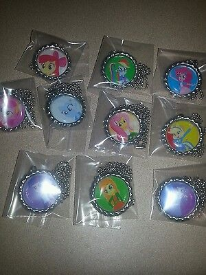 my little pony equestria girls lot of 10 necklaces necklace party favors pretty