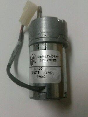 Varian E16005071 Servo Gear Motor New