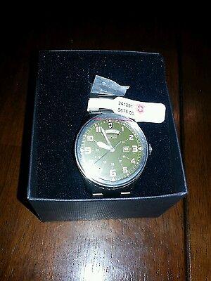 Swiss Army Men's Watch Victorinox Model 241291 Infantry Vintage Brand New Mens Infantry Vintage Watch