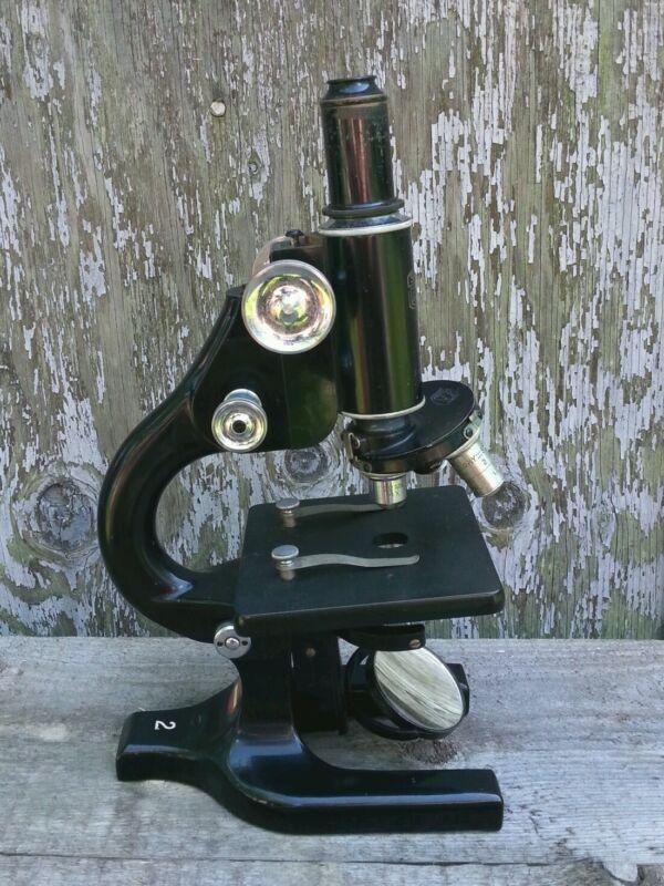 Antique Spencer Buffalo microscope