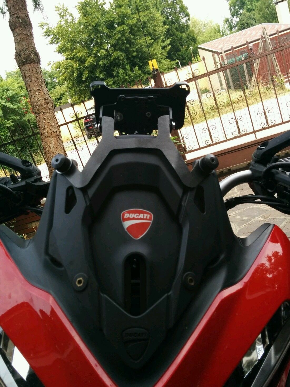 Ducati Multistrada 1200 My 2013 14 Support Holder Mount Gps Wiring Diagram 2 Of 10 Smartphone 3