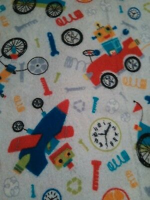 Fun robot fabric Nursing pillow cover,  fits boppy pillow