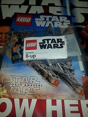 LEGO Poe's mini X-wing STAR WARS THE FORCE AWAKENS Toys R Us PROMO /w comic](Lego Mini X-wing)