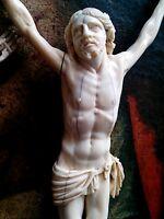 Cristo Crocifisso Antico 18 Sec. 1700 No Croce Crucifix Beinschnitzerei Grande -  - ebay.it