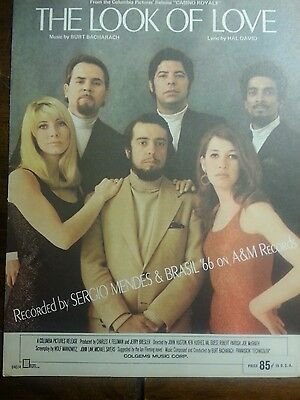 """The Look Of Love by Sergio Mendes & Brasil '66 from """"Casino Royale"""" sheet music"""