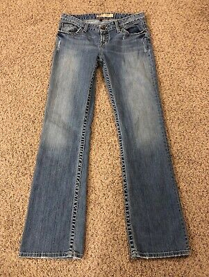 "Buckle BKE Kate Stretch Bootcut Medium Wash Jeans Sz 30x33.5 Meas. W30""xL32"" Kate Bootcut Jeans"