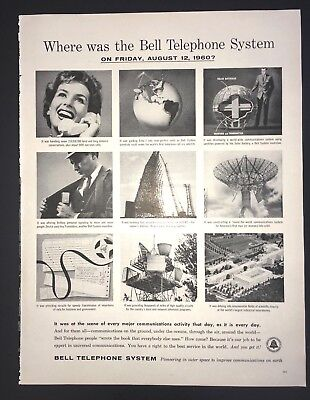 Life Magazine Ad BELL TELEPHONE SYSTEM