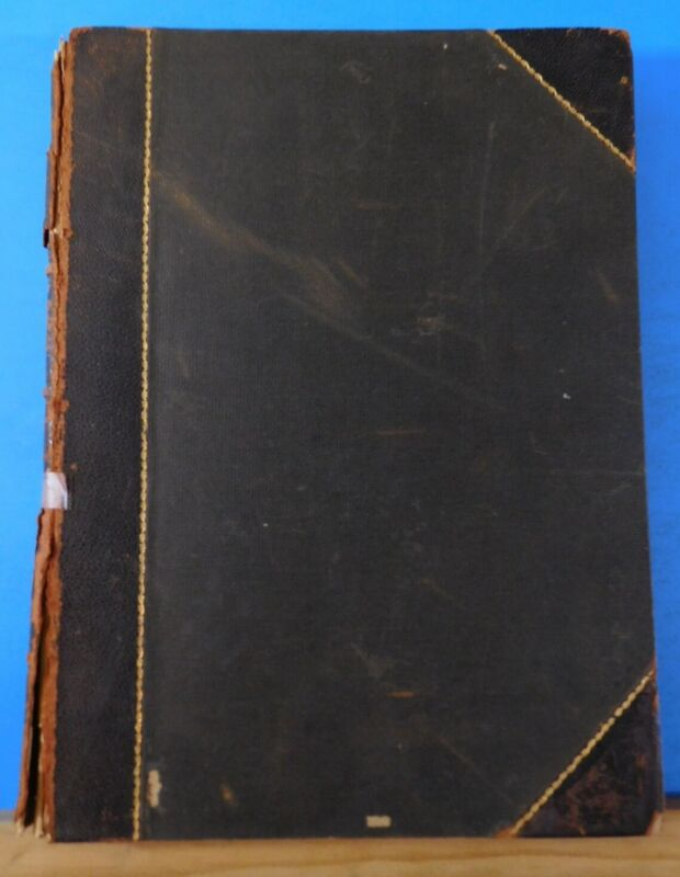 Railroad and Engineering Journal Vol 66 1892 Hard Cover 584 Pages