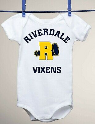 Riverdale TV Show Inspired, Vixens, Game Jersey Baby Gerber - Baby Showe Games