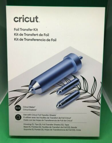 Cricut Foil Transfer Kit - Brand New and Sealed!