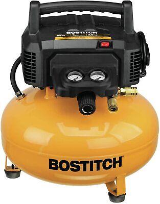 Bostitch Portable Pancake Air Compressor Oil-free 6 Gallon150 Psi Btfp02012