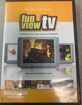 Halloween Movies On Tv (FUN VIEW TV Vol 1: VIRTUAL Fireplace Fish Fireworks Nature++ Seen On Ellen)