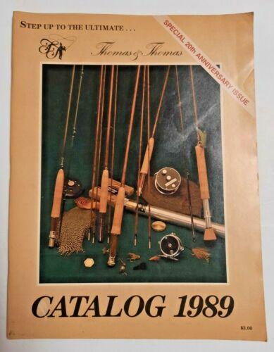 Thomas and Thomas 1989 Fly Fishing Catalog 20 Anniversary Catalog from Ed Shenk