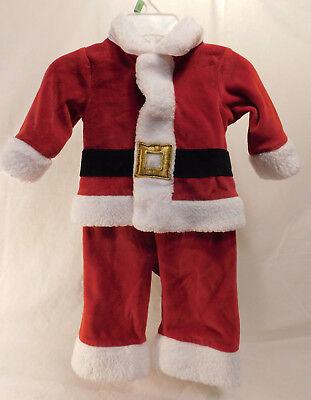 Koala Kids 0 to 3 Months 2 Piece Infant Boys Santa Outfit](Kids Santa Outfit)
