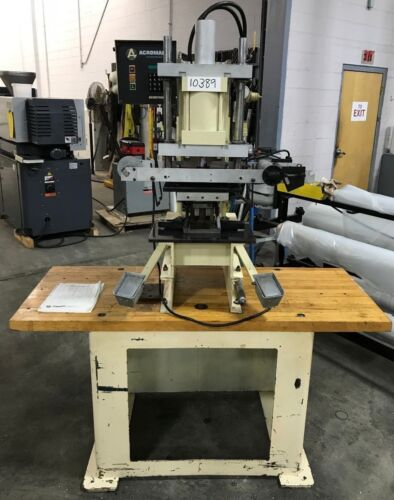 *ACROMARK* 550-50 Hot Stamping Print Machine on Bench