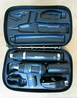 Welch Allyn 97250-ms Diagnostic Macroview Otoscope Coaxial Opthalmoscope Lithium