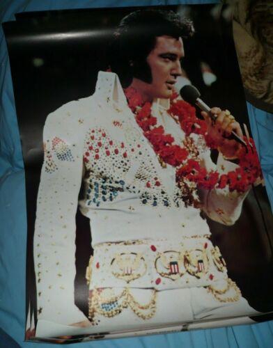 1975 ELVIS PRESLEY In Concert LAS VEGAS Poster Original                     po1