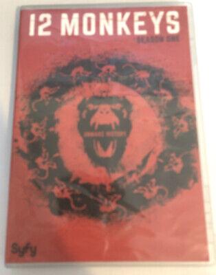 12 Monkeys: Season One (DVD, 2016, 3-Disc Set) Syfy Complete First Season Twelve