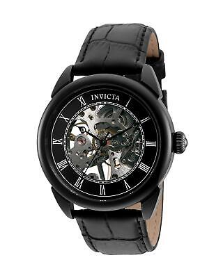 Invicta Men's 32632 Specialty Mechanical 3 Hand Black Dial Watch