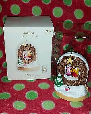 Hallmark Lucky Star Winnie The Pooh Collection Magic Ornament 2008