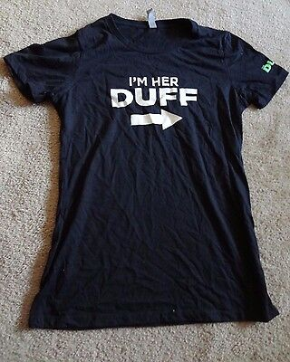 THE DUFF 2015 MOVIE SHIRT LARGE PROMO 60%Cotton/40%Polyester Made In Nicaragua image