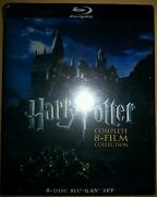 Harry Potter 8 Film DVD