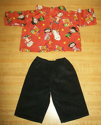 Black Outfits For Halloween (HALLOWEEN COSTUME SHIRT+BLACK CORD PANTS for 20