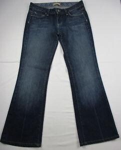 Paige Laurel Canyon Ladies Jeans Tag sz 29 Measured 31 X 29 Low Rise Boot Cut