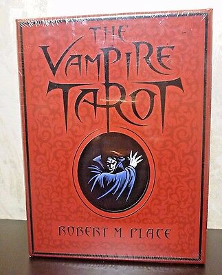 The Vampire Tarot by Robert M. Place Book & 78 Card Deck 2009 OOP New & Sealed!