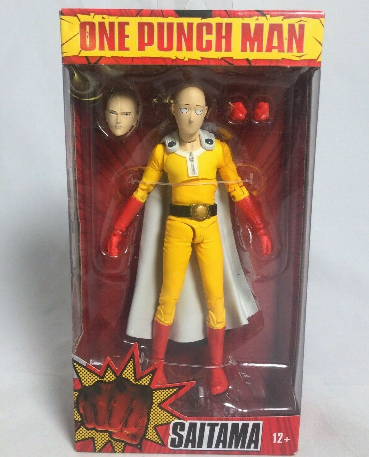 "Mcfarlane One Punch Man SAITAMA 7/"" Action Figure In Hand!"
