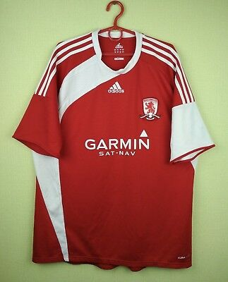 Middlesbrough (Boro) jersey shirt 2009/2010 Home official adidas football s. XL image