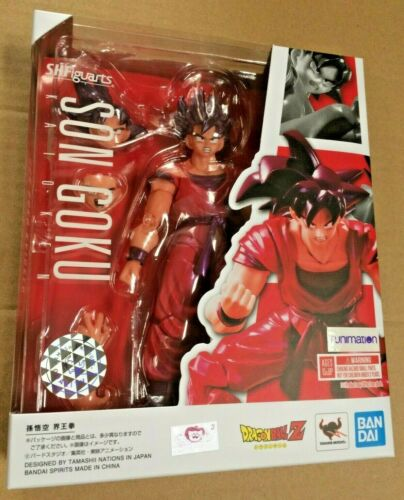 NEW 100% AUTHENTIC SH.Figuarts Son Goku Kaioken Dragon Ball Z - SHIPS FROM USA