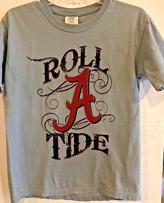 Roll A Tide Comfort Color T-Shirt Alabama Crimson Tide Bama - Roll Tide Colors