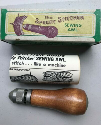 Vintage Speedy Stitcher Sewing Awl.