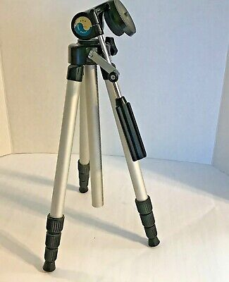 Vintage Camera Tripod Pro Model 243T Expands From 15 inches to 42 inches