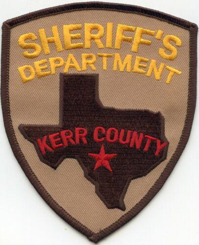 KERR COUNTY TEXAS TX SHERIFF POLICE PATCH