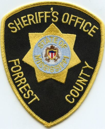 FORREST COUNTY MISSISSIPPI MS SHERIFF POLICE PATCH