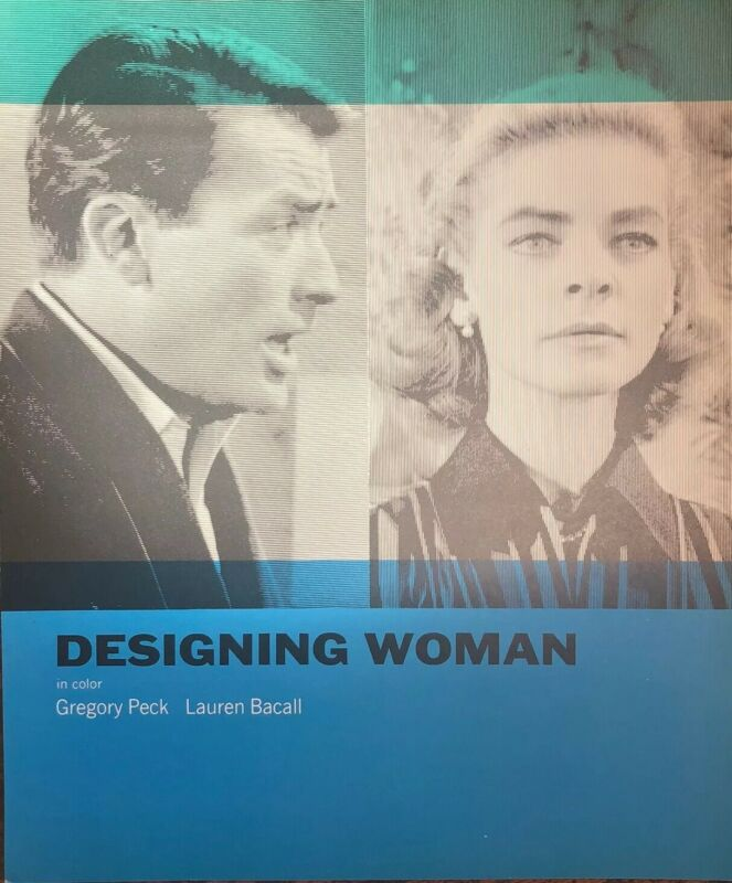 Designing Women Gregory Peck Lauren Bacall Press Promo Movie Still 1966 8x10