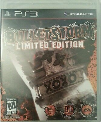 Bulletstorm LIMITED EDITION  (Sony Playstation 3, 2011)