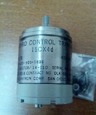 Synchro Control Transmitter 15cx4d Part No. M2070814-01d 400 Hz 115 Volts