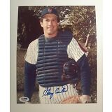 Gary Carter Autograph 8x10 Photo   PSA DNA   Mets  Signed  Auto