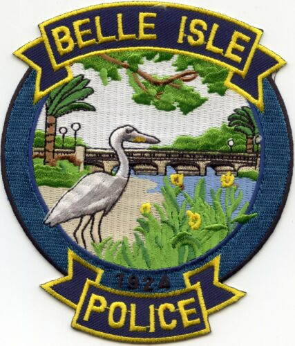 BELLE ISLE FLORIDA FL Large POLICE PATCH